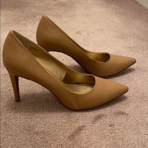 BCBG Tan High Heels